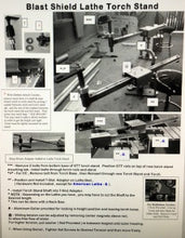 Lathe Torch Stand Instructions