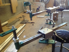 "Lathe Torch Stand with 1"" Shaft and 6"" Shaft"