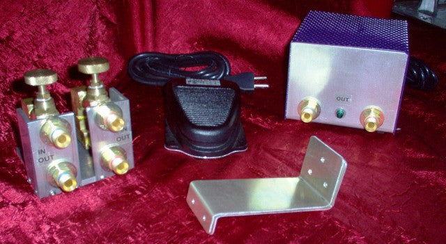 Jeff Rogers Lathe Foot Switch For Ribbon Burners