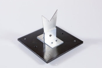 Stainless Steel V-Blade on Stand