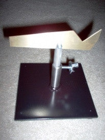 Stainless Steel Straight V-Blade in Adjustable Stand
