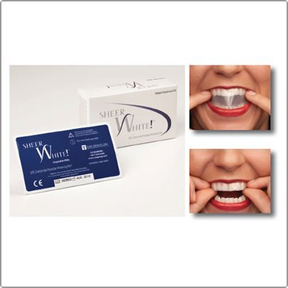Prescription Strength Teeth Whitening Strips 20% carbamide peroxide