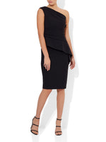 Harlow Black Cocktail Dress