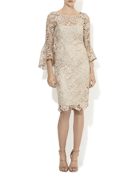 Chrystella Lace & Sequin Dress