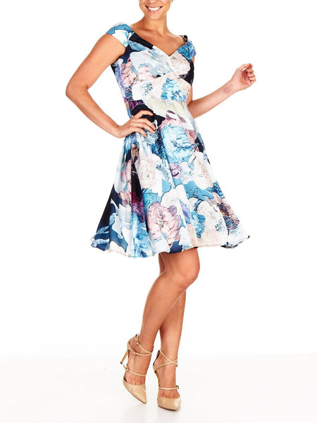 Jacinta Soft Print Dress