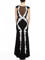Ava Embriodered Gown