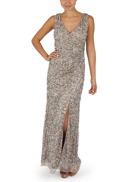 Layla Hand Beaded Gown