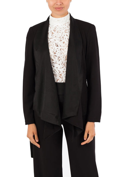 The Aria Jacket, A Style To Wear From Desk To Dinner. Avaliable in Black