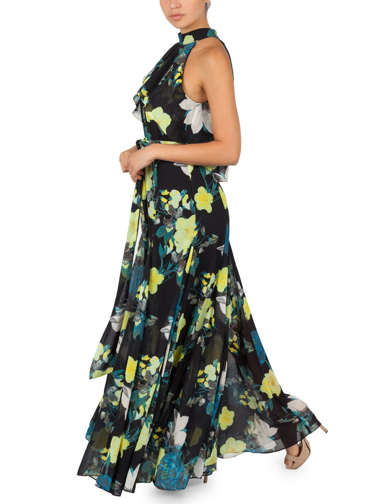 Rianna Tropical Maxi Dress
