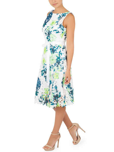 Prini Printed Lace Dress