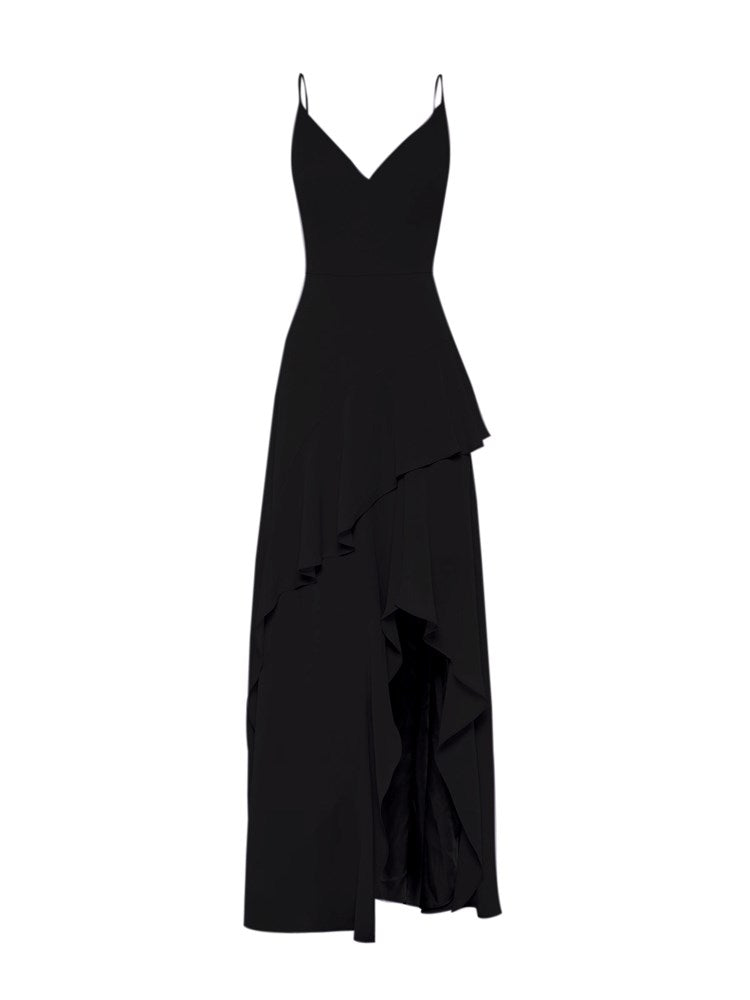 Leo Black Soft Gown