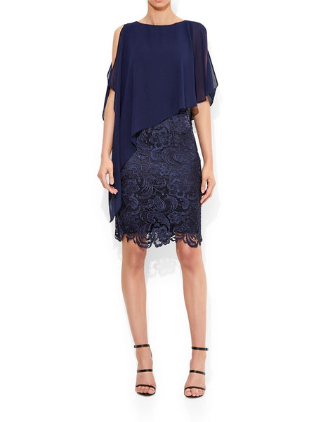 Alisa Lace and Chiffon Dress