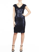 Valeria Sequin Lace Dress