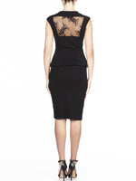 Giselle Lace & Ponte Dress