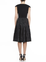 Kate Knit and Taffeta Dress