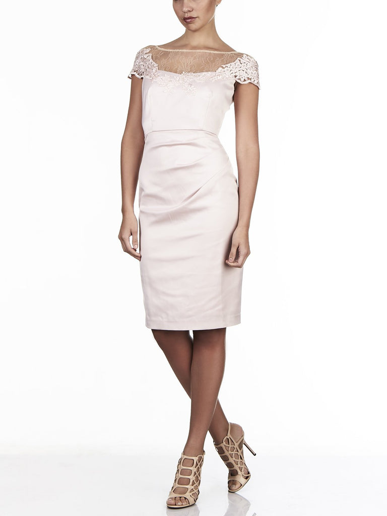 Stellah Sateen Lace Dress