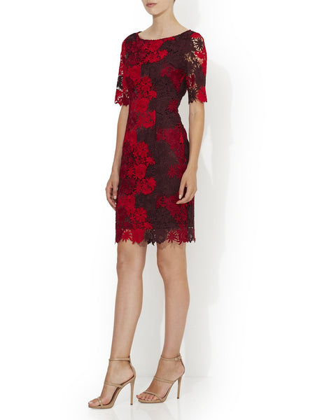 Grace Lace Shift Dress