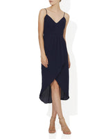 Valentina Chiffon Drape Dress