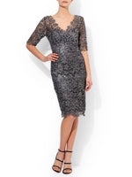 Patrizia Sequin Shift Dress