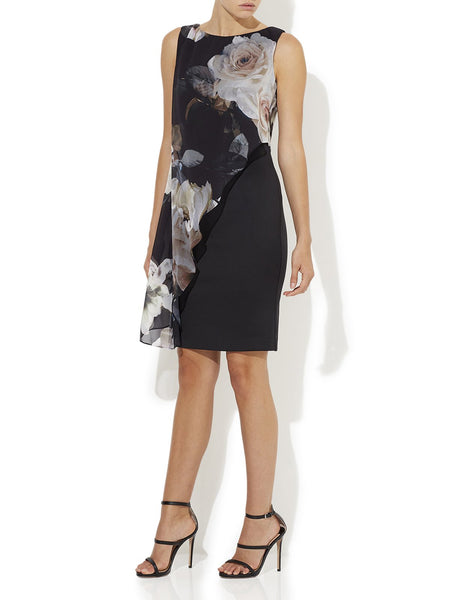 Erin Printed Chiffon Dress