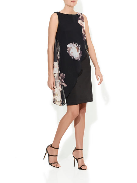Erin Floral Chiffon Dress