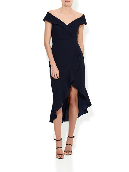 Lolita Cocktail Dress Navy