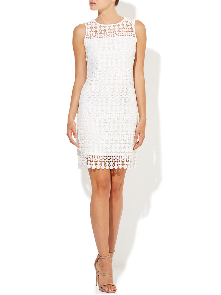 Auora Spot Shift Dress