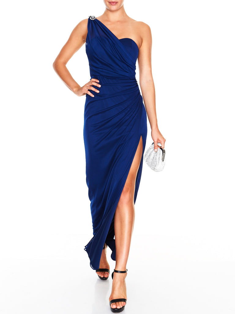 Olympia One Shoulder Gown