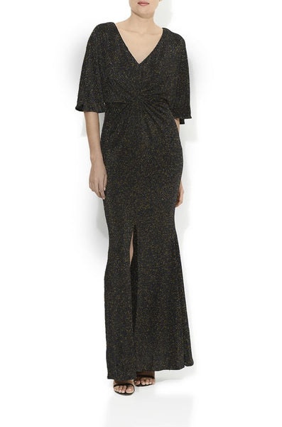Diva Lurex Gold Gown