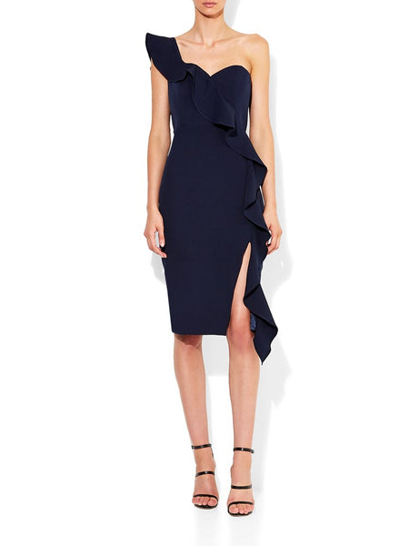 Luna Navy Cocktail Dress