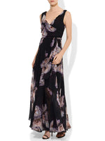 Ruby Printed Gown
