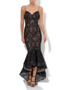 Misha Lace Dress Black