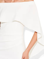 Aerin Ivory Crepe Dress
