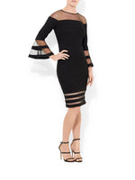 Manhattan Bell Sleeve Dress