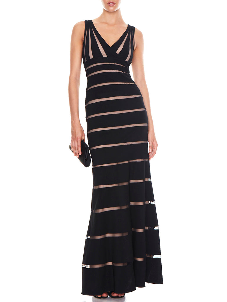 Adriana Contrast Bandage Dress