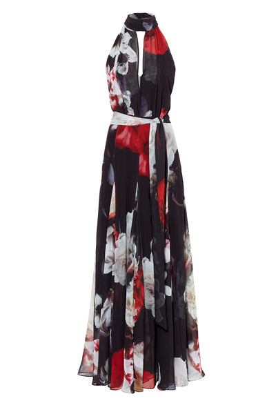 Lily Rose Printed Gown