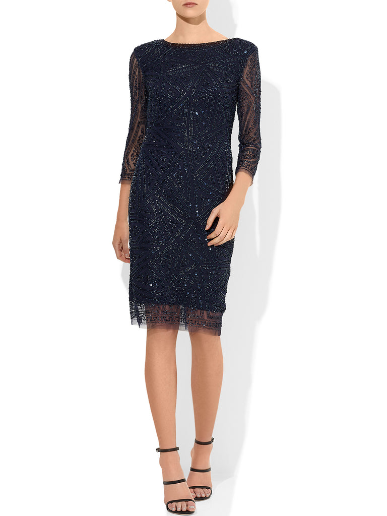Belissima Beaded Cocktail Dress