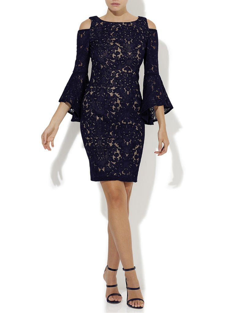 Marni Navy Lace Dress