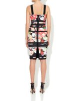 Poppy Printed Scuba Dress