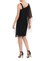 Liza Black Cocktail Dress