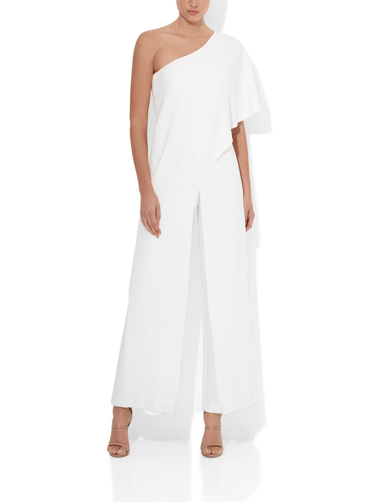 Harper Stretch Jumpsuit Ivory