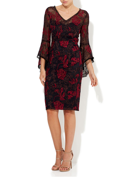 Lexi Embroidered Lace Dress