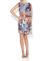 Bridgette Printed Shift Dress