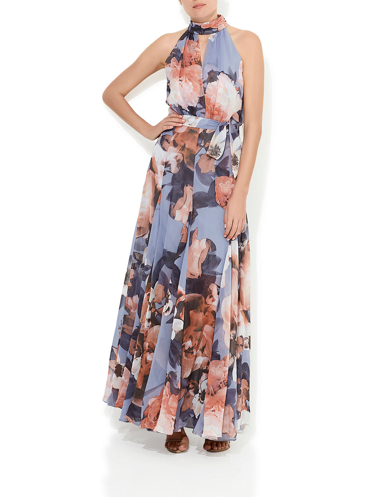 Lily Rose Dusty Blue Gown