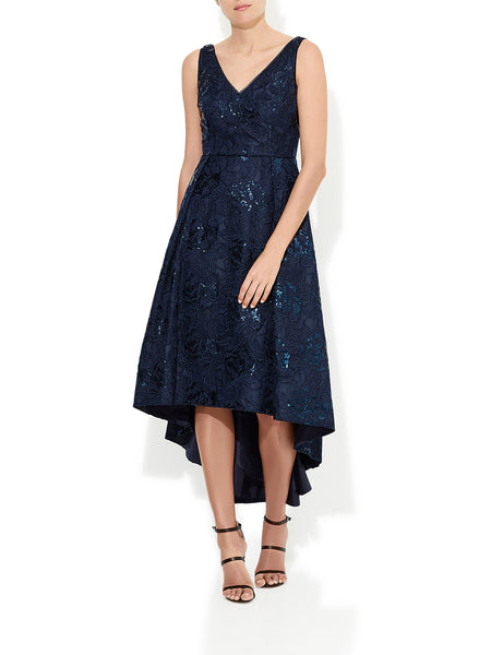 Brea Navy Cocktail Dress
