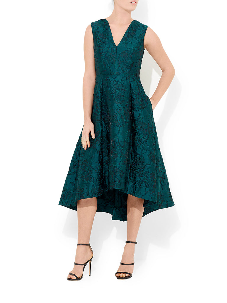 Capriani Jacquard Party Dress