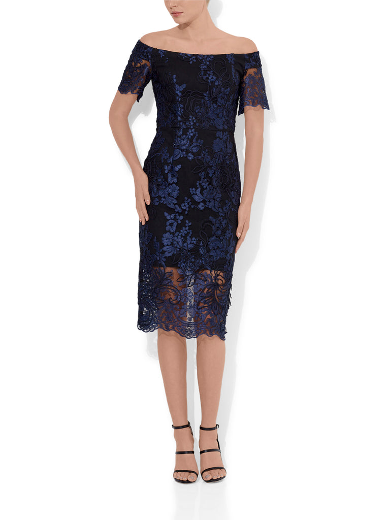 Sabelle Tonal Lace Dress