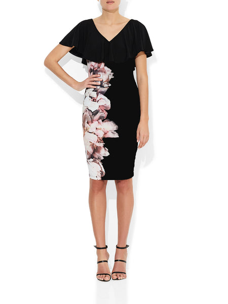 Catalina Printed Jersey Dress