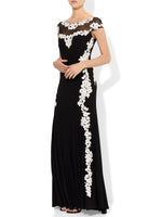 Tiana Lace Applique  Gown