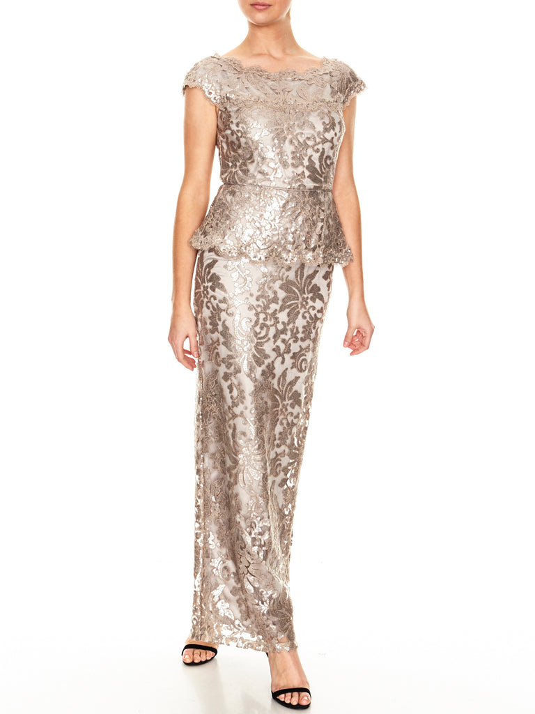 Angie Sequin Gown
